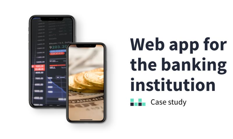 Applover - Web app for the banking institution