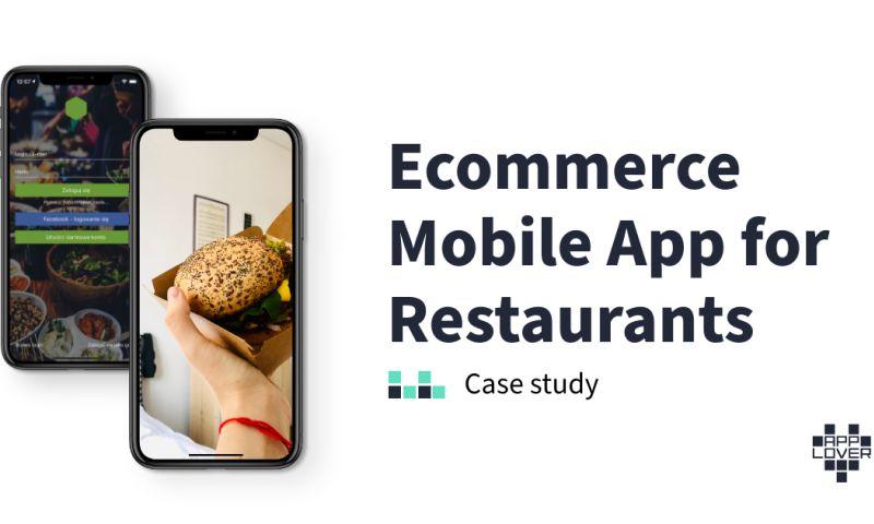 Applover - Ecommerce Mobile App for Restaurants