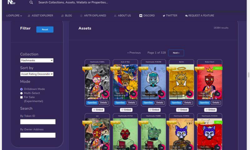 Antalogic - Website for NFT Market, Laravel