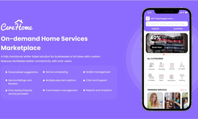 Cerebrum Infotech - CereHome - On-demand Home Services Marketplace