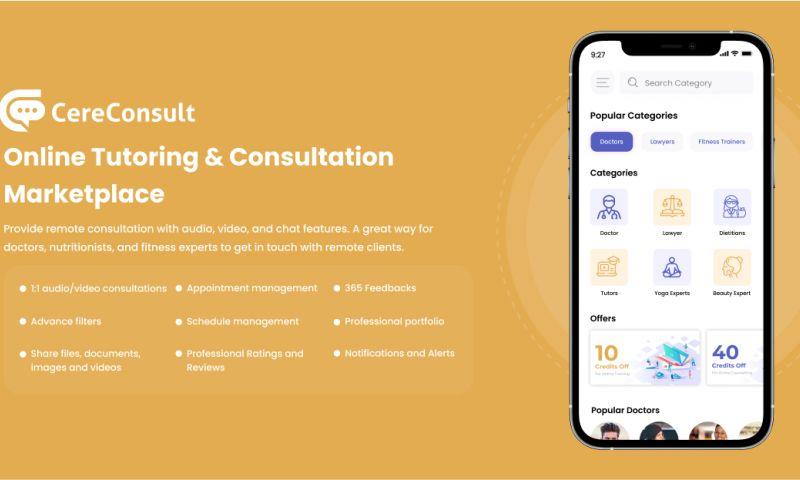 Cerebrum Infotech - CereConsult - Online Tutoring & Consultation Marketplace