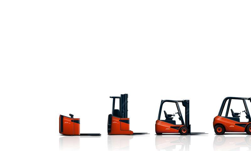f/p design - linde material handling / forklift range