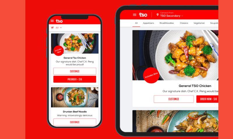 S-PRO - Unique food delivery platform