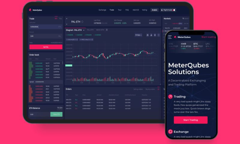 S-PRO - Decentralized platform for cryptocurrency trading
