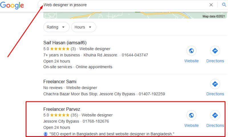 Freelance Topic - Local SEO For Freelancer Parvez