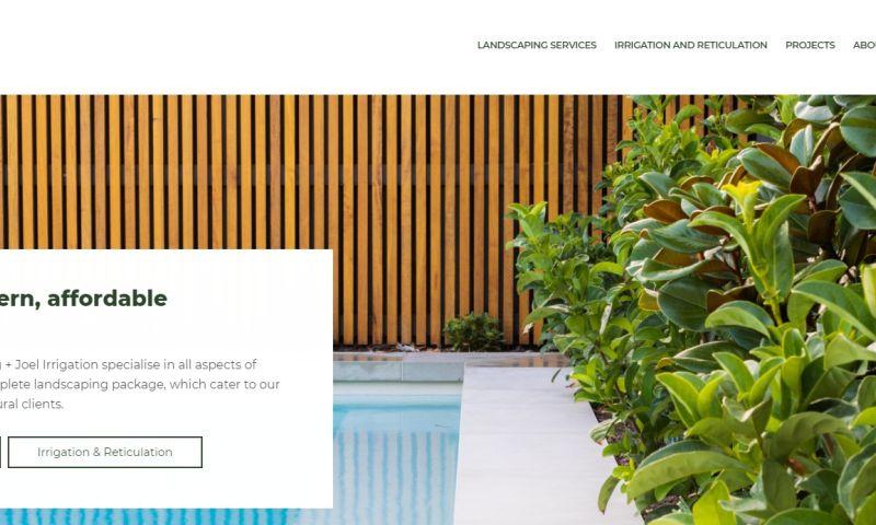 Studio22 - LHP Joel Irrigation & Landscaping
