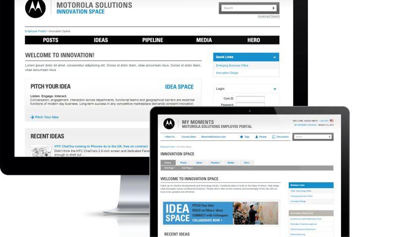 Lounge Lizard - Motorola Solutions