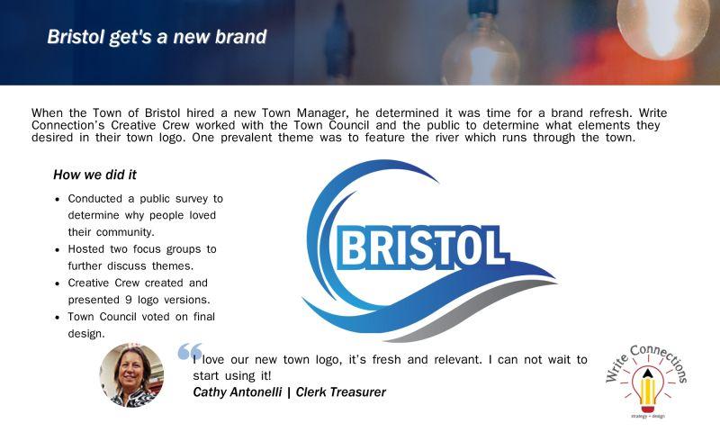 Write Connections | strategy + design, LLC. - Bristol - Case Study