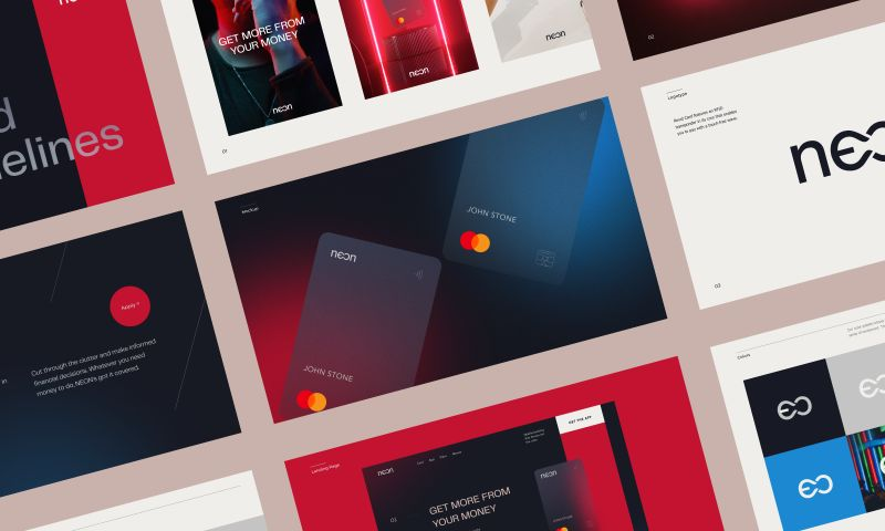 Halo Lab - Neon Bank Brand Book