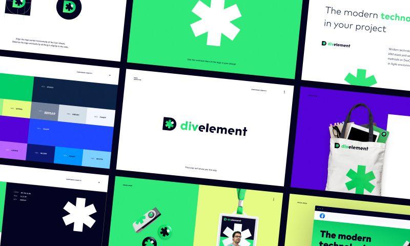 Halo Lab - Divelement Agency Branding