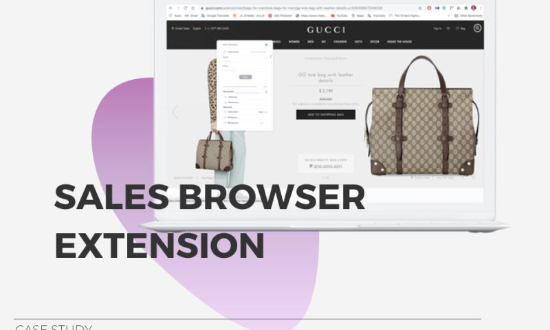 Clover Dynamics - Sales Browser Extension