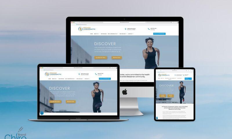 Brand Chiro - Web Design Success Story: Premier Chiropractic Center