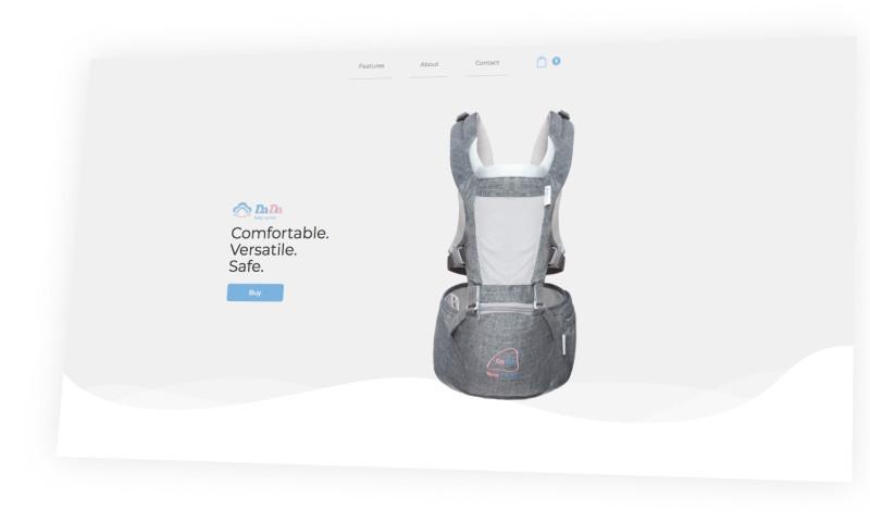 Orange Cattle - HipSeat   E-commerce
