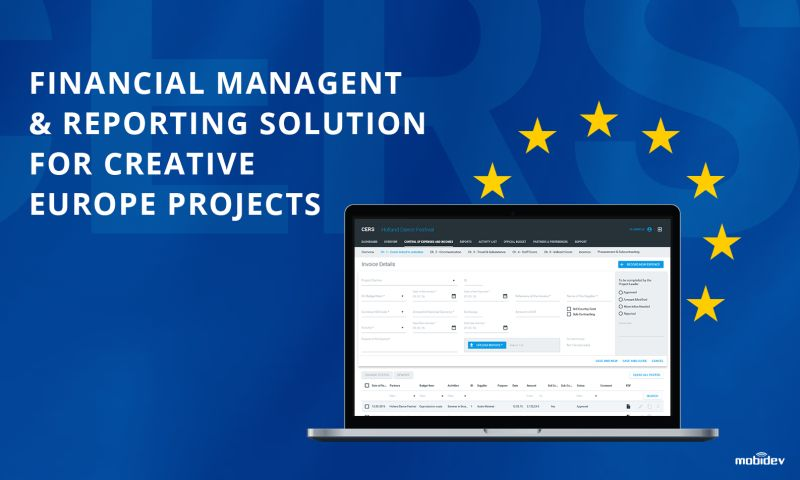 MobiDev - SAAS Solution for financial management of EU project