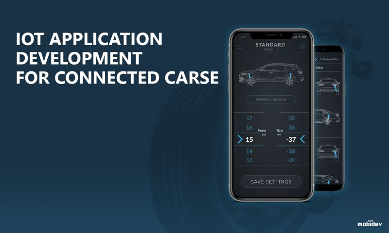 MobiDev - IoT App Development for automotive hardware d