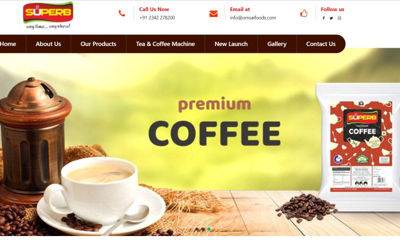 IP Websoft - Om Sai Foods