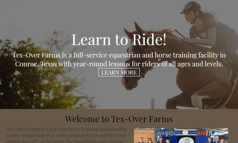 Williams Web Solutions - Tex-Over Farms