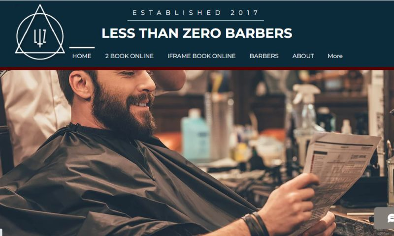 iTester Web Designs - LTZ Barbers, England