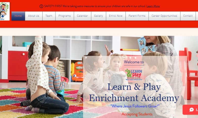 iTester Web Designs - Learn & Play Enrichment Academy