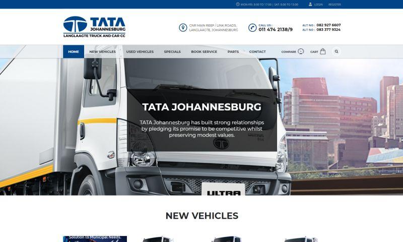 Advertising Solutions Web Design - TATA Johannesburg