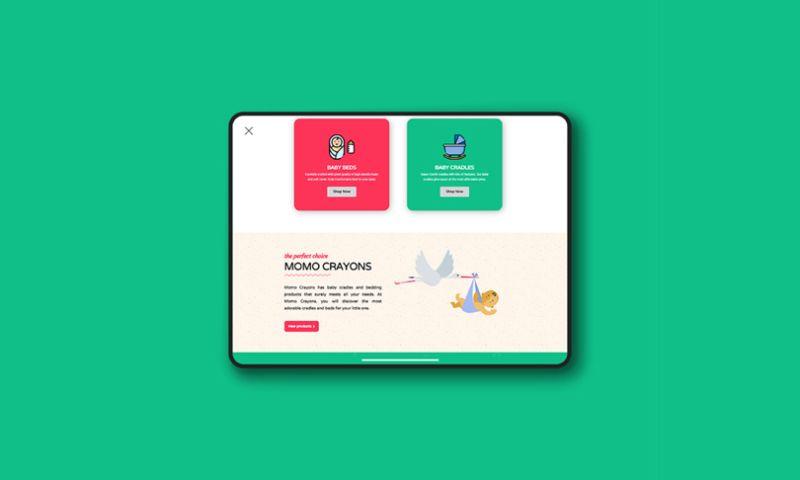Vibrand Digital Solutions - MOMO CRAYONS
