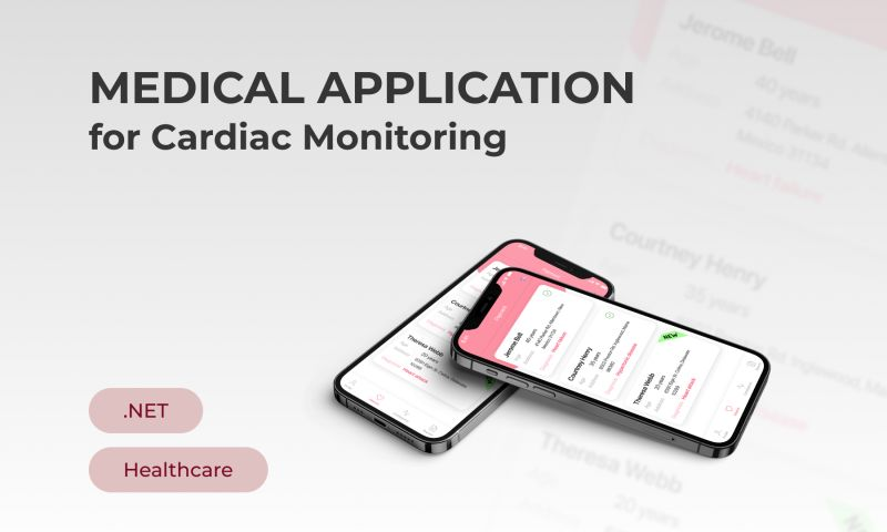 Innowise Group - Medical Application for Cardiac Monitoring