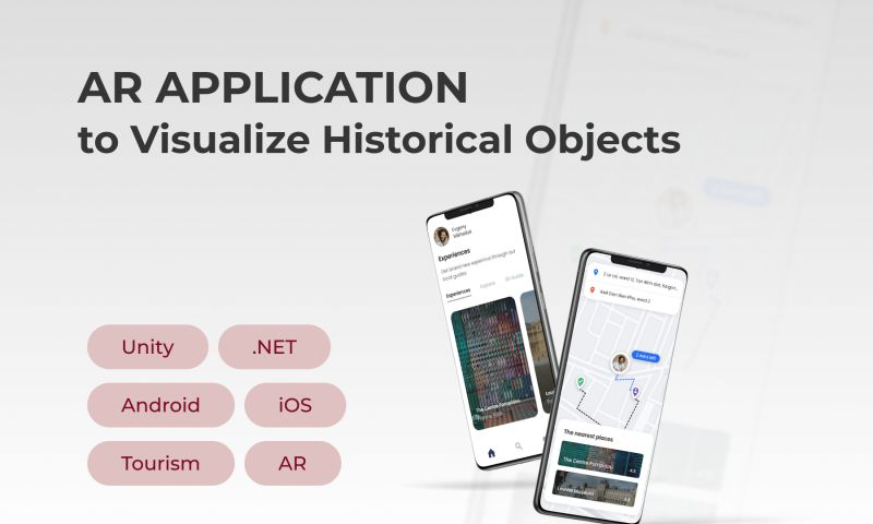Innowise Group - AR Application to Visualize Historical Objects