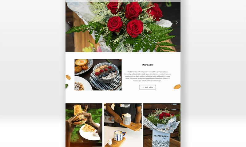 TMA Brand Consulting - Flowershop Cafe