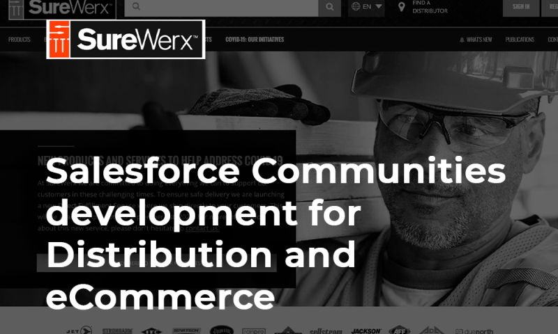 Polytech Software - Salesforce Communities development for Distribution and eCommerce
