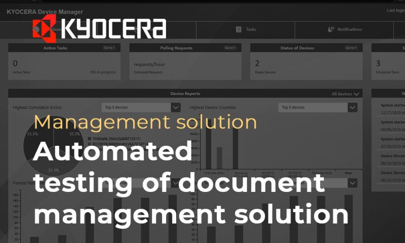 Polytech Software - Automated testing of document management solution