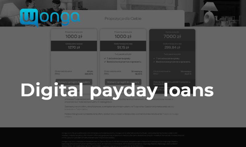 Polytech Software - Digital payday loans