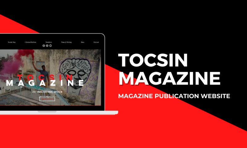 Chib Designed It LLC - Tocsin Magazine