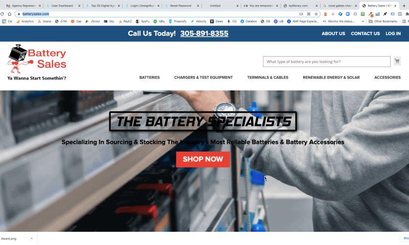 OptFirst Internet Marketing - Ecommerce Website Development