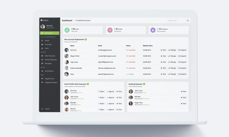 inCode Systems - Match-making social app for musicians and producers