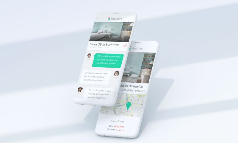 inCode Systems - Web-service to connect roommates in Berlin