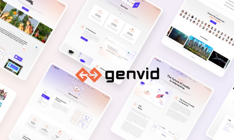 Creative Brand Design - Genvid
