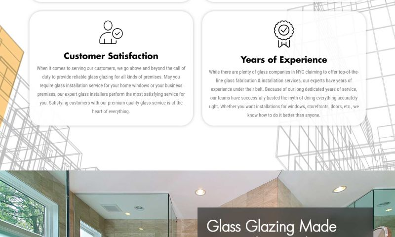 Allure SEO - NY Glazing - WordPress Development