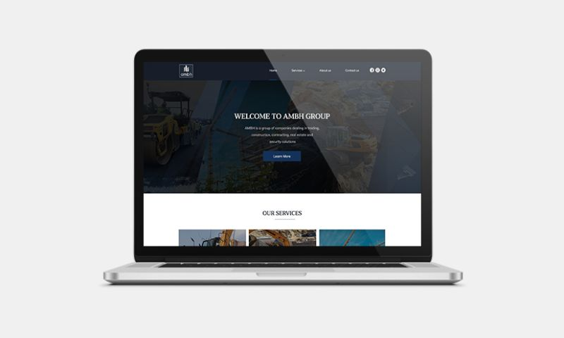 Graphiters - Website Development for Group of Companies
