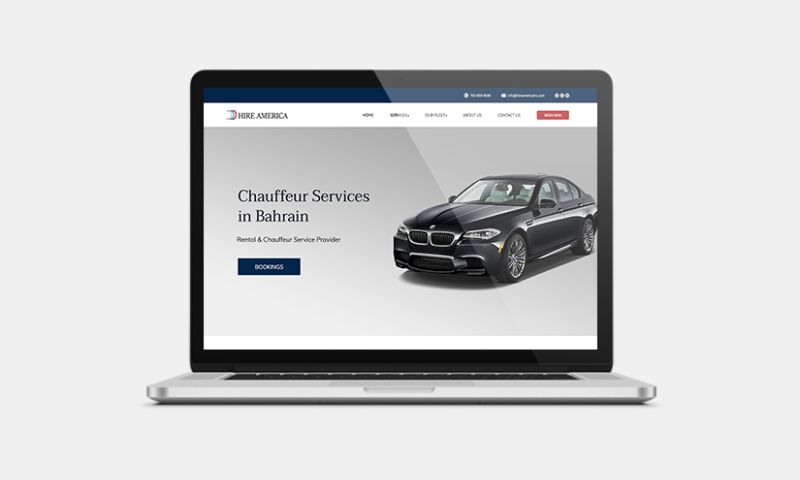 Graphiters - Chauffeur Website Development Services