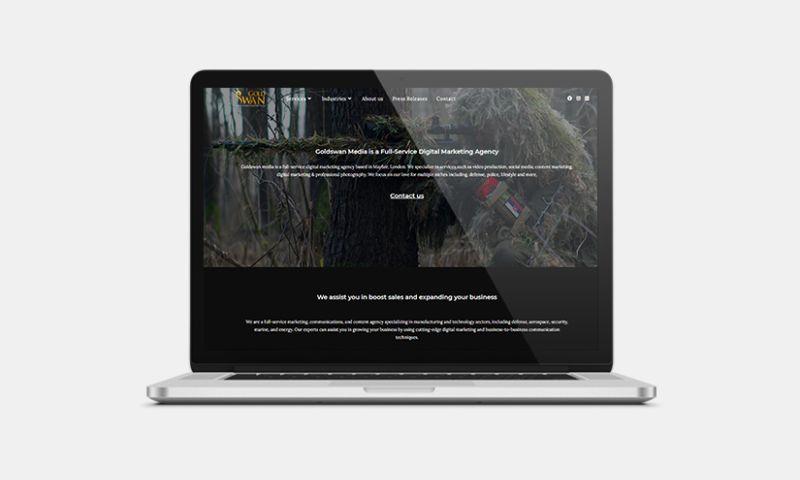 Graphiters - Website Development services for Digital Marketing Agency