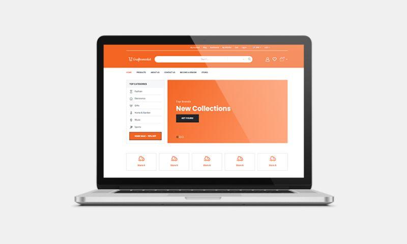 Graphiters - Multi-vendor Ecommerce development services