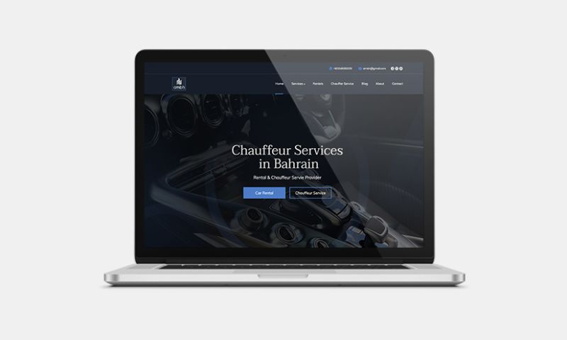 Graphiters - Web Development Services for Luxury Car Rental Business