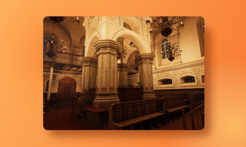 Exposit - VR Visit to Slonim Synagogue