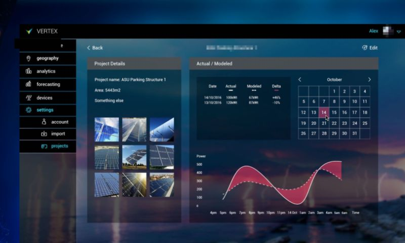 WebSailors - Vertex • Solar Power Management Platform