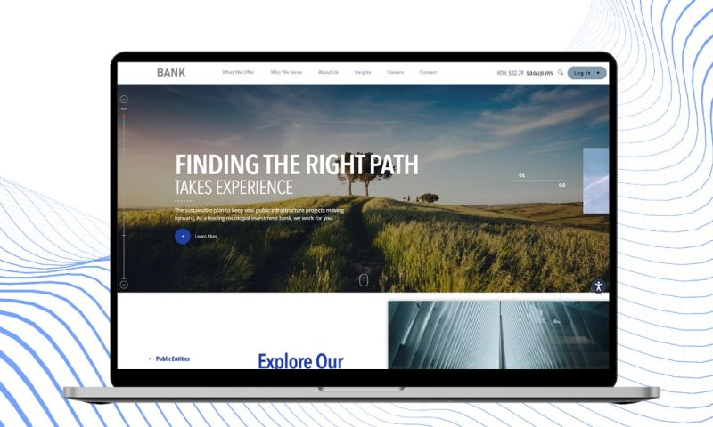 TRIARE - INVESTMENT BANKING CORPORATE WEBSITE