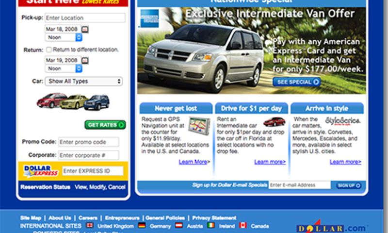 TimeHoodie - Dollar Rent A Car