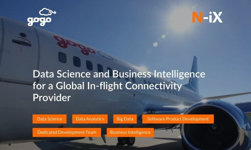 N-iX - Data Science and Business Intelligence for a Global In-flight Connectivity Provider