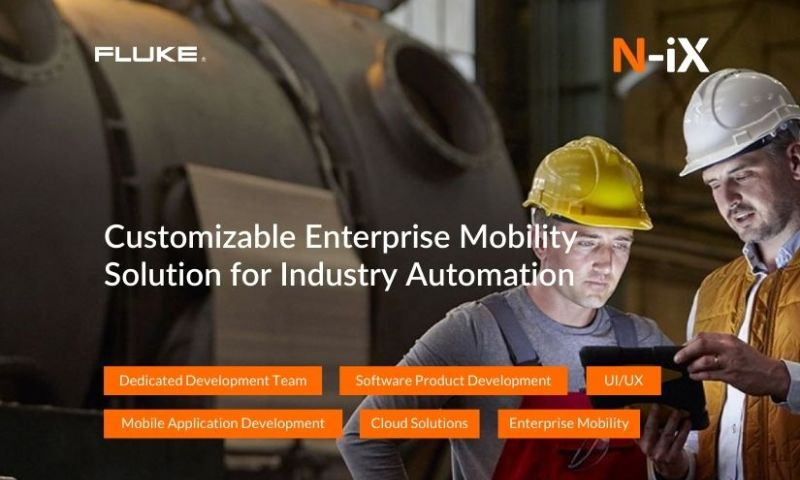N-iX - Enterprise App that Monitors and Controls Automated Systems