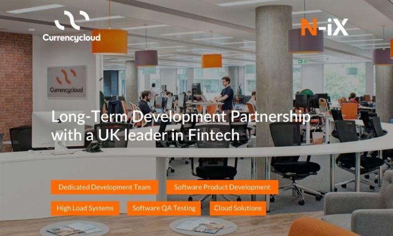 N-iX - Long-Term Development Partnership with a UK leader in Fintech