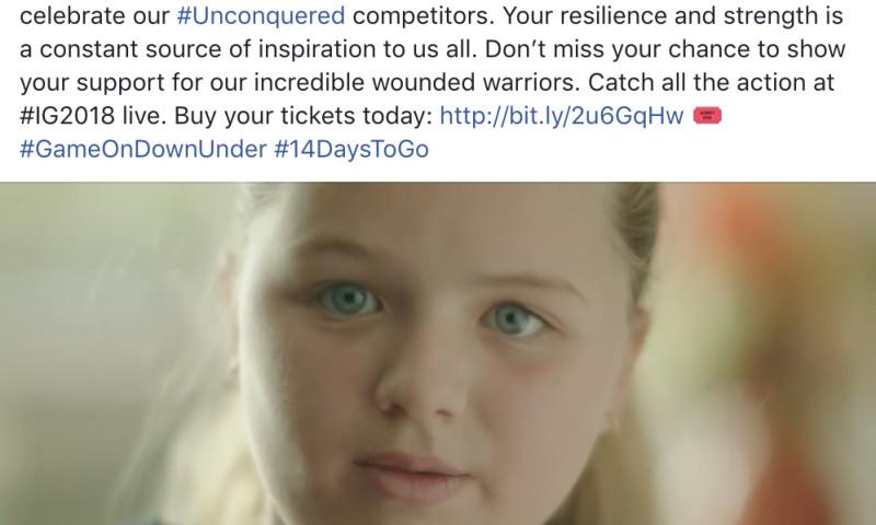 Edge - Invictus Games Sydney 2018